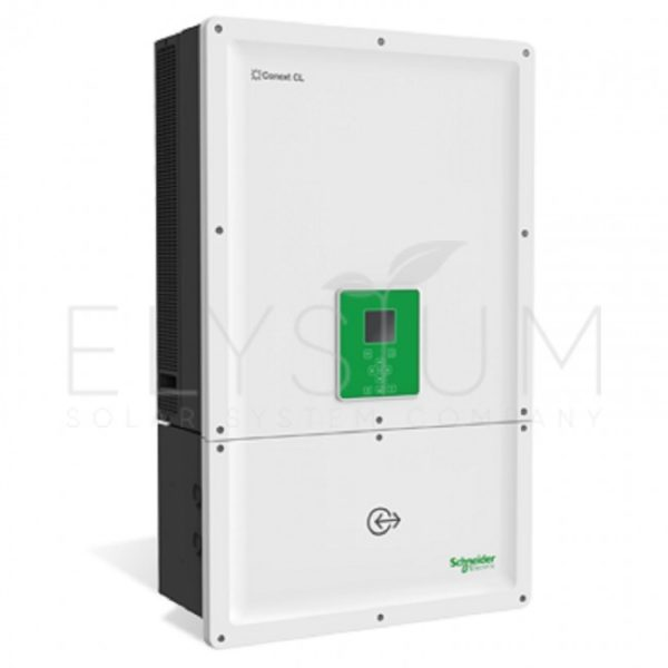 conext cl20e base 650x650 - Сетевой трехфазный инвертор Schneider Electric Conext CL25E Optimum