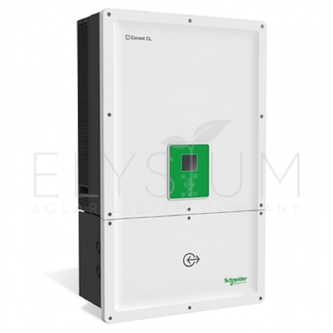 conext cl20e base 650x650 - Сетевой трехфазный инвертор Schneider Electric Conext CL20E Base