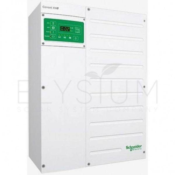 conext xw 7048 650x650 - Гибридный инвертор Schneider Electric Conext XW+ 8548