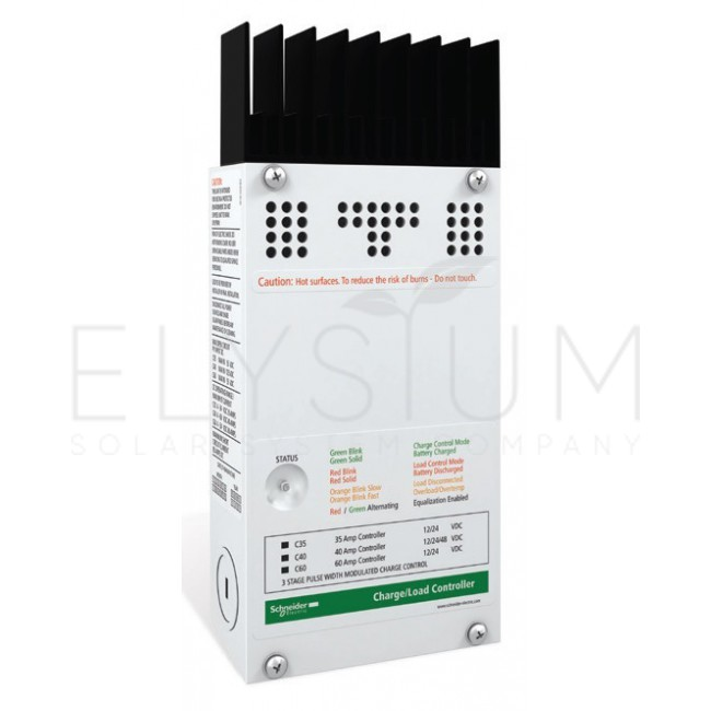 schneider electric c40 650x650 - Контроллер заряда Schneider Electric C40