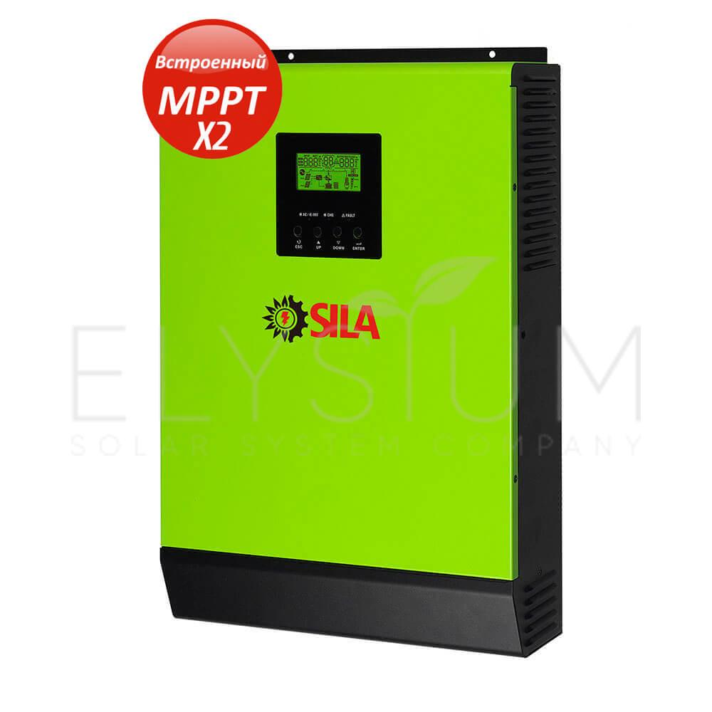 gibridniy solnechniy invertor sila pro 5000ml - Гибридный солнечный инвертор SILA PRO 5000ML