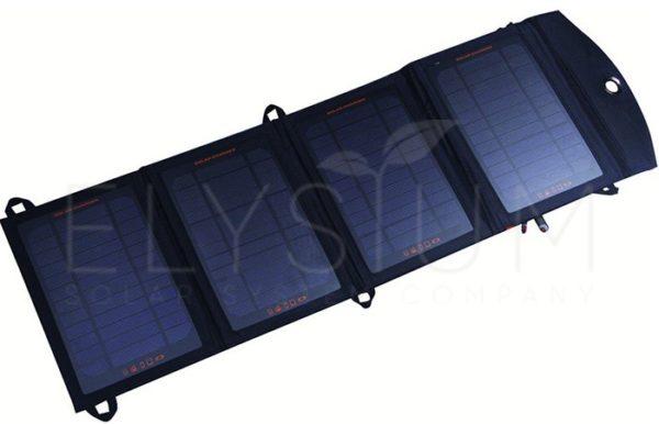 """sititek.ru SolarPack 14W 4 - Портативное зарядное устройство со встроенной солнечной батареей 12В """"SolarPack 14W"""""""