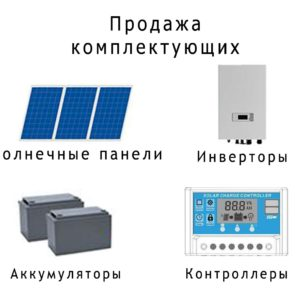 kompl min 300x300 - Солнечный модуль фотоэлектрический HVL 280 Вт